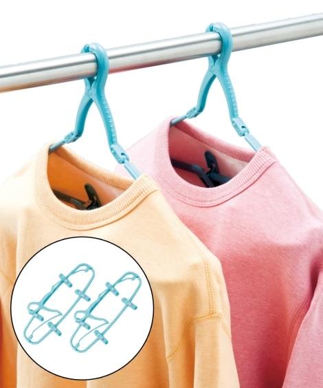 ズボンハンガー2個組 洗濯ハンガー・ピンチハンガー