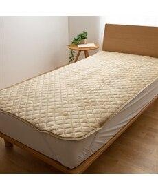 【mofua】プレミアムマイクロファイバー多色敷パッド 敷きパッド・ベッドパッドの商品画像
