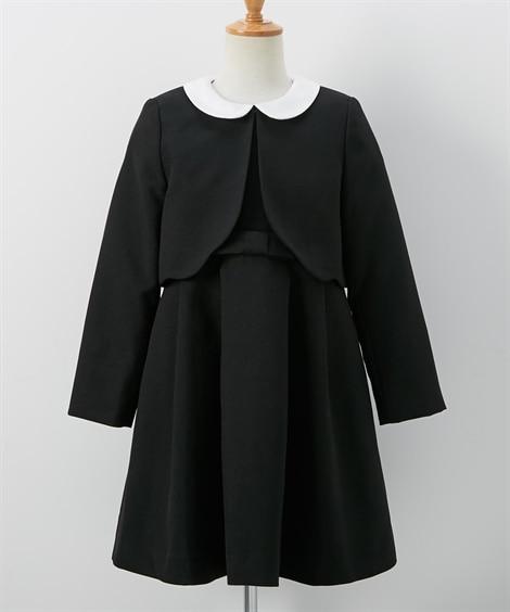 フォーマルスーツ(ボレロ+ワンピース)(女の子 子供服) キ...