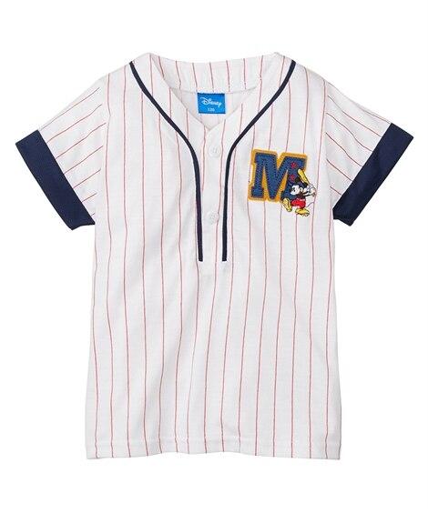 【ディズニー】スポーツユニフォーム風半袖Tシャツ(男の子 女...