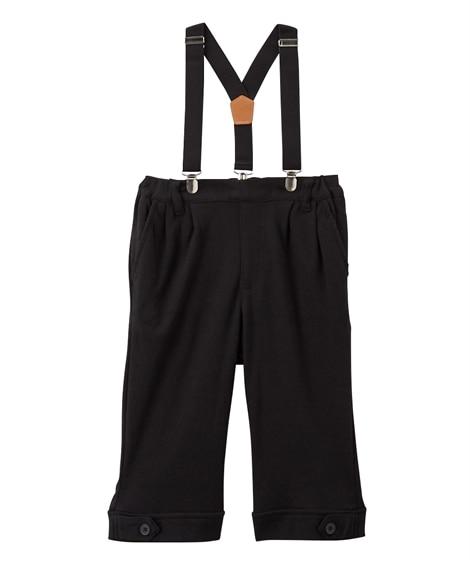 サスペンダー付ハーフパンツ(男の子 ベビー服 子供服) キッズフォーマル, Kid's Suits