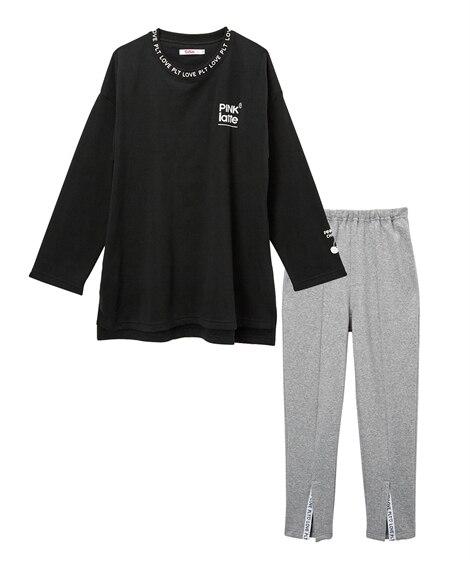 【PINK-latte(ピンクラテ)】裏起毛ルームウエア(女の子 子供服 ジュニア服) キッズパジャマ, Kids' Pajamas