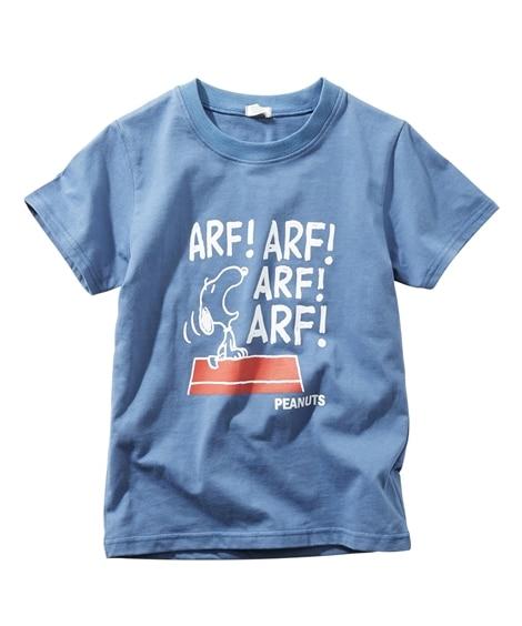 【スヌーピー】プリント半袖Tシャツ(男の子 女の子 ベビー服 子供服) (Tシャツ・カットソー)Kids' T-shirts