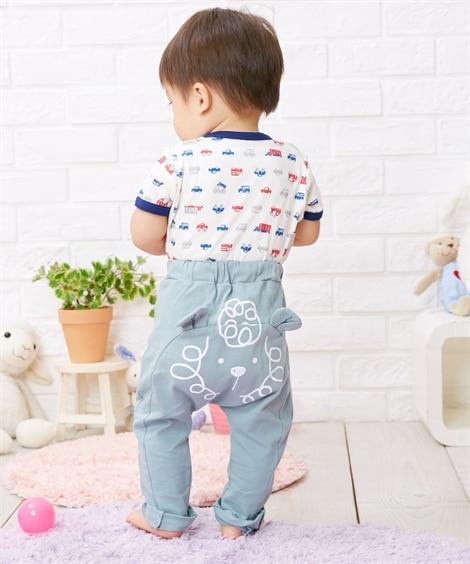 13e6134c23aff 7分丈モンキーパンツ(男の子・女の子 子供服・ベビー服) 通販 ニッセン