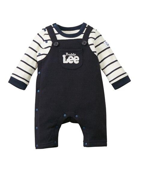 Buddy Lee あったか裏起毛 長袖重ね着風カバーオール(男の子。女の子 子供服。ベビー服) 【ベビー服】