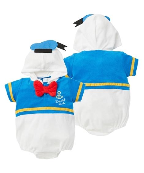 【ディズニー】フード付変身半袖ロンパース(男の子。女の子 子供服。ベビー服) 【ベビー服】Babywear