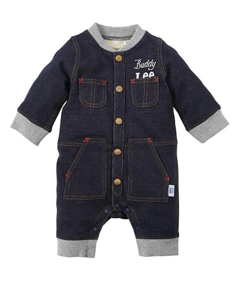 【Buddy Lee】デニム風長袖カバーオール(男の子 子供服・ベビー服) 【ベビー服】Babywear