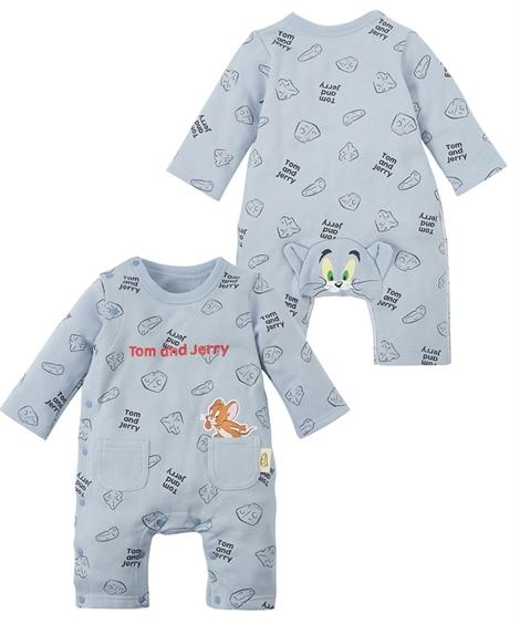 【トムとジェリー】おしりがかわいいカバーオール(ベビー服・子供服 男の子・女の子) 【ベビー服】Babywear