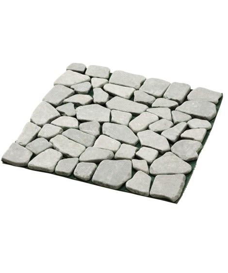 天然石マット 石畳調 6枚組 DIY・リフォーム用品...
