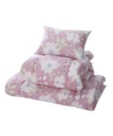 【日本製】綿100%側生地。吸汗速乾。抗菌防臭。防ダニ 布団3点セット 布団セットの商品画像