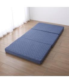 ふんわりわた入りキルト高反発マットレス(厚み10cm) 折りたたみマットレス・ベッドマットの商品画像