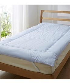 【日本製。綿100%】ふかふかボリューム「消臭ソムリエ(R)」敷パッド 敷きパッド・ベッドパッドの商品画像