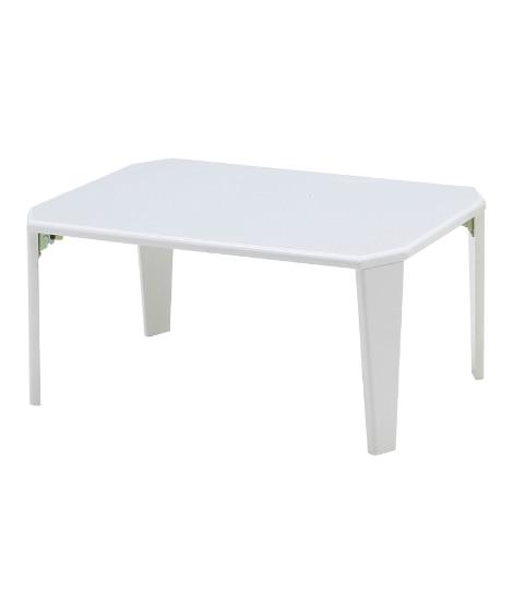 折りたたみテーブル(鏡面仕上げ) ローテーブル・リビングテー...