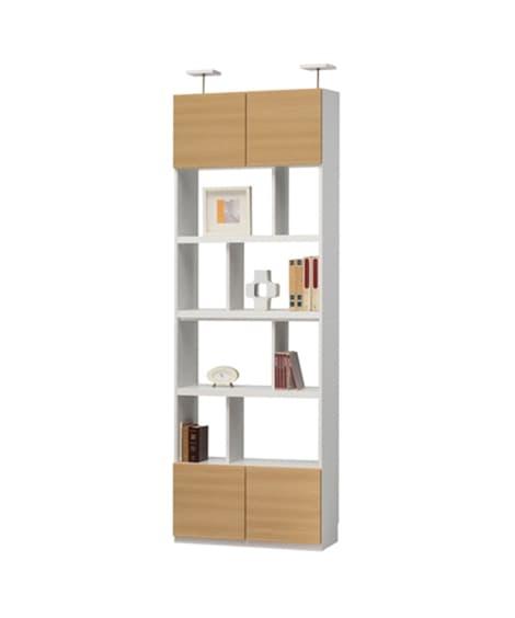 【荷造送料0円実施中】シンプルモダンなデザイン壁面収納家具 ...