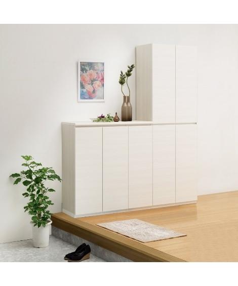 壁面エントランス収納 下駄箱・シューズボックス・シューズラッ...