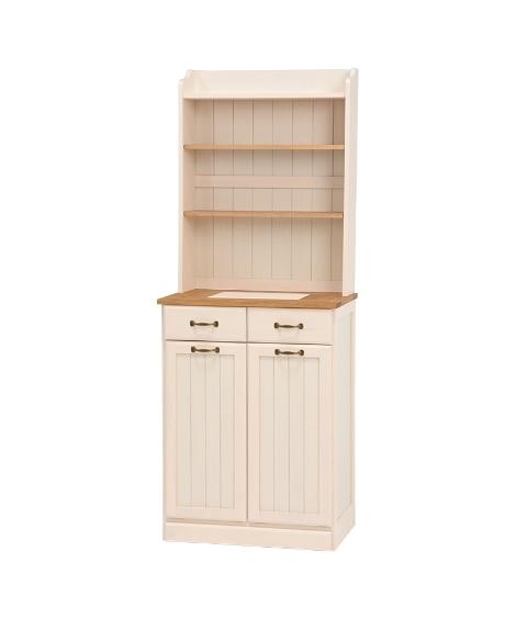 【荷造送料0円実施中】天然木キッチン収納ダストボックス ゴミ...