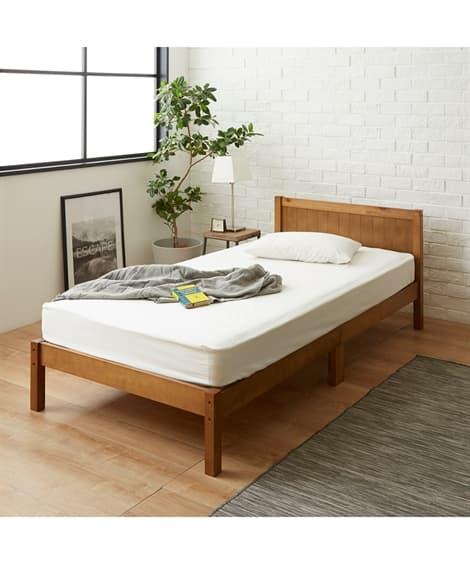 天然木の優しいすのこベッド ベッド(ニッセン家具)
