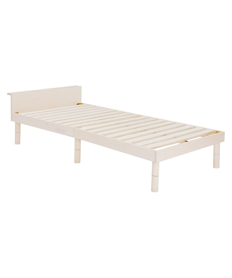 高さが3段階調節できる宮付すのこベッド すのこベッド・畳ベッドと題した写真