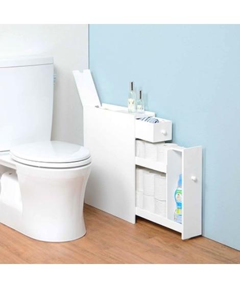 シンプルスリムトイレラック トイレ収納, Toilet goods(ニッセン、nissen)