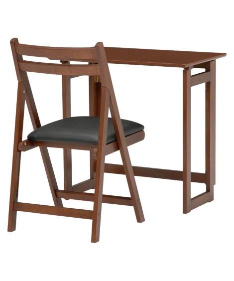 折りたたみテーブル&チェアセット デスク・机・ワークテーブルと題した写真