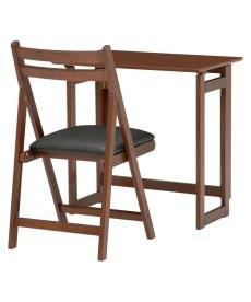 折りたたみテーブル&チェアセット デスク・机・ワークテーブルの小イメージ