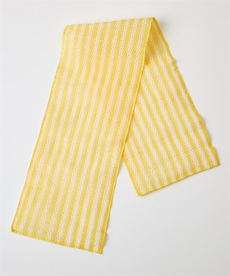 天然綿のボディタオル(しっかりメッシュ編み) バス・洗面用品, Bath goods(ニッセン、nissen)