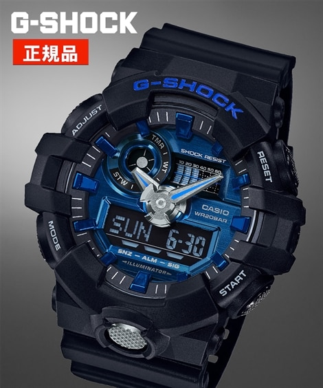 CASIO G-SHOCK GA-710-1A2JF(腕時計)CASIO(カシオ)