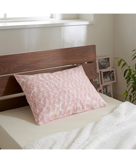 【西川】orne オルネ 綿混枕カバー(ハート柄) 枕カバー・ピローパッド, Pillow covers(ニッセン、nissen)