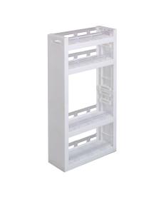 キャスター付き棚が可動できるすき間ラック すき間収納・デッドスペース収納の商品画像