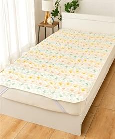 ディズニー プーさん 綿100%タオル地敷パッド 敷きパッド・ベッドパッドの商品画像