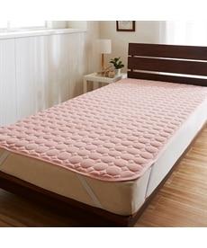 【昭和西川】ふんわりなめらか敷パッド 敷きパッド・ベッドパッドの商品画像