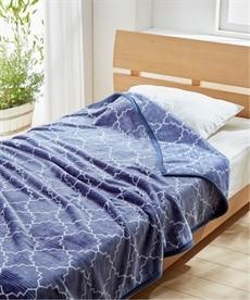 【昭和西川】ふっくらニューマイヤー毛布(モロッコ) 毛布・ブランケットの商品画像