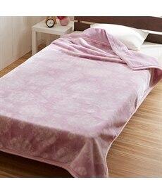 【昭和西川】ふっくら2枚合わせ毛布(ジェイド) 毛布・ブランケットの商品画像