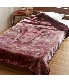 【昭和西川】スーパーボリューム2枚合わせ毛布(メラリー) 毛布・ブランケットの商品画像
