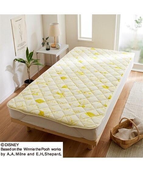 ディズニー くまのプーさん 綿100%タオル地敷きパッド 敷きパッド・敷パッド, ベッドパッド, Bed pats(ニッセン、nissen)