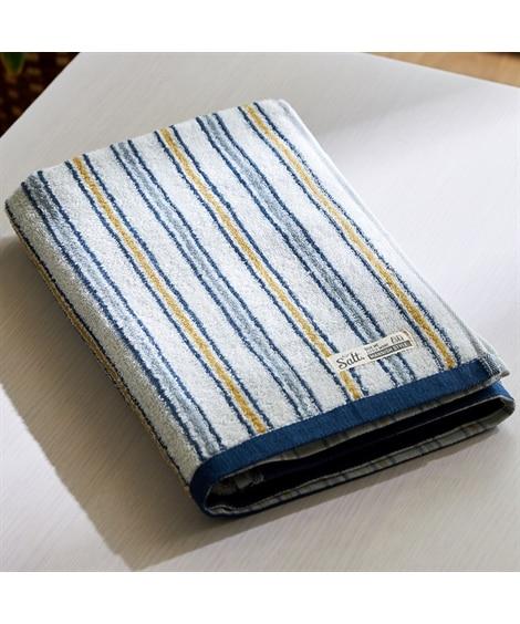 ストライプ柄がおしゃれなバスタオル バスタオル, Towels(ニッセン、nissen)