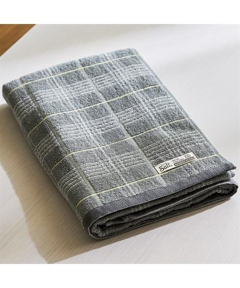 チェック柄がかわいいバスタオル バスタオル, Towels(ニッセン、nissen)