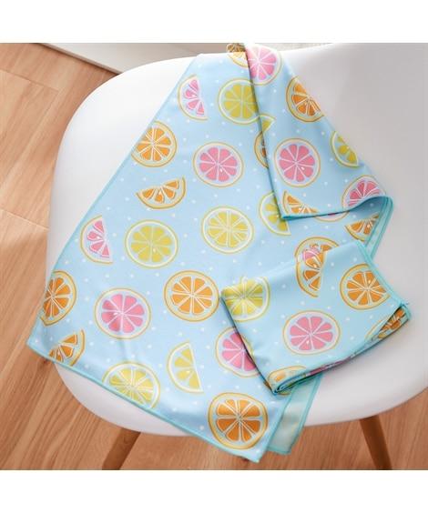 シトラス クールタオル同色2枚セット タオル, Towels(ニッセン、nissen)