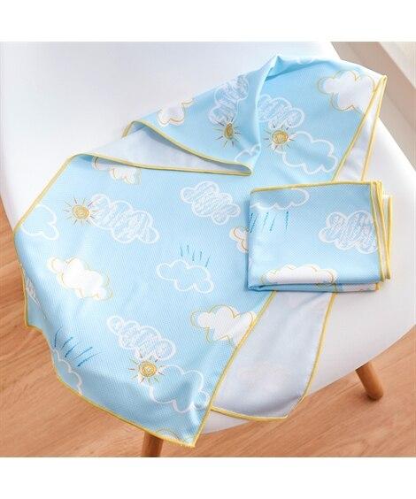 モクモク クールタオル同色2枚セット タオル, Towels(ニッセン、nissen)