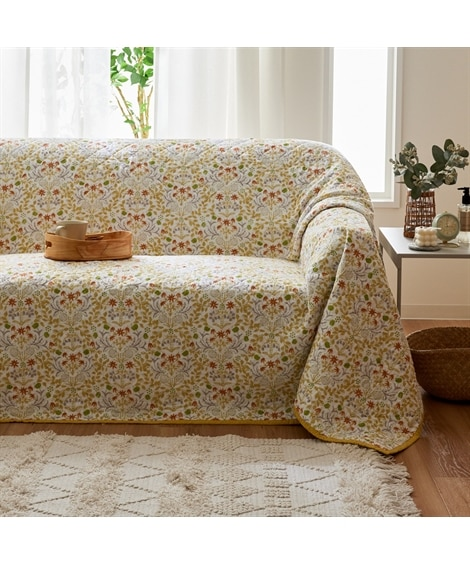 洗える!綿100%の北欧調マルチカバー マルチカバー, Sofa covers(ニッセン、nissen)
