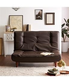 合皮ハイバックソファー 2・3人掛けソファー(ニッセン家具)の商品画像