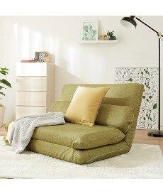 カバーが洗えるリクライニングソファー ソファーベッド(ニッセン家具)の商品画像