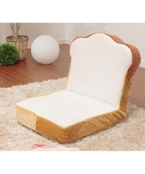 カバーが洗える食パン座椅子 座椅子・ビーズクッション...