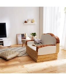 食パンソファーベッド ソファーの商品画像
