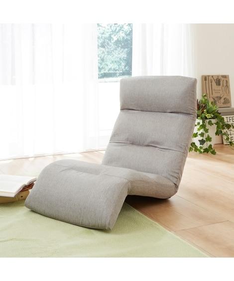 リラックスリクライニングソファー下タイプ 座椅子・ビーズクッ...
