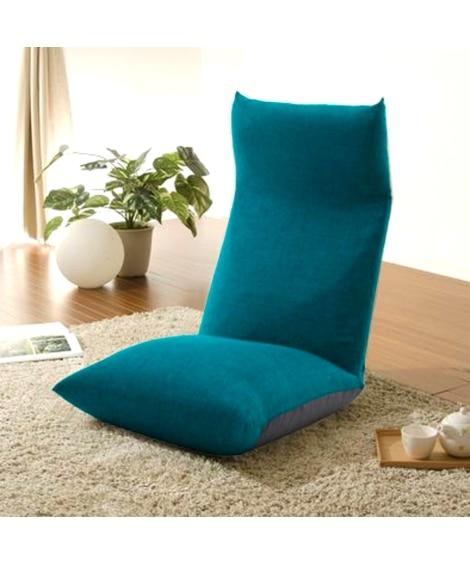 【日本製】リクライニングポケットコイル入り座椅子 座椅子・ビ...