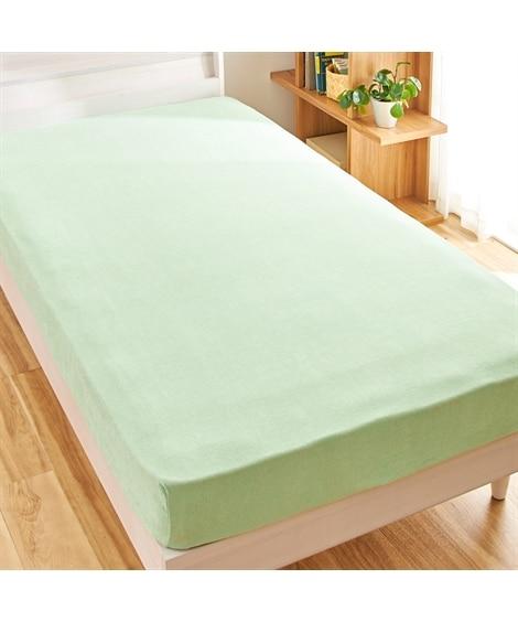 綿100%タオル地のびのびぴったりシーツ(マットレス。敷布団...