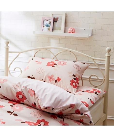 ポップフラワー柄枕カバー 枕カバー・ピローパッドと題した写真