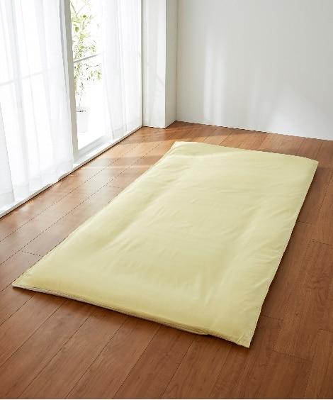 【日本製】綿100%艶感のあるシルクフィブロイン加工の敷布団...