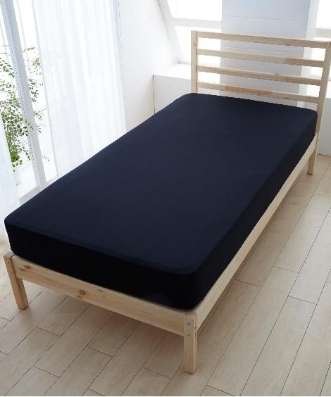 【日本製】綿100%艶感のあるシルクフィブロイン加工のベッド...